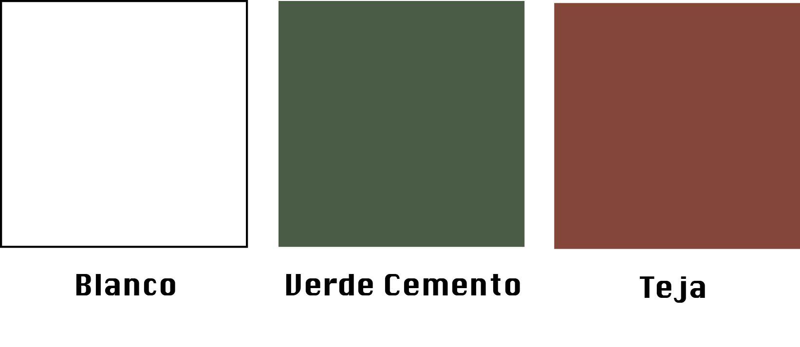 colores membrana en pasta
